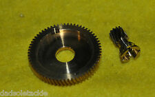 NEW Abu Garcia Ambassadeur 4 pin Brass Pinion Gear 1116904 & 21200 drive gear