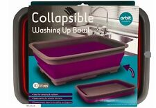10 Litre Collapsible Washing Up Bowl Kitchen Camping Outdoor Ideal For Picnic
