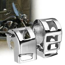 New Motorcycle Chrome Silver Switch Housings Cover For Yamaha XVS V-Star XV1100