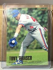 1996 FLEER TIFFANY GOLD #470 TONY TARASCO MONTREAL EXPOS Rare Variation