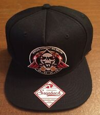 Call Of Duty Special Combat Air Recon S.C.A.R. Badge Logo Snapback Hat NWT!