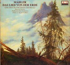 EMX 41 2073 1 FISCHER DIESKAU/KLETZKI mahler das lied von der erde LP PS EX+/EX