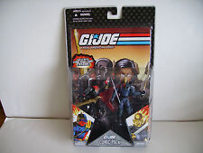 Cola de rata Hierro & comic pack DESTRO las figuras Gi Joe 25th aniversario