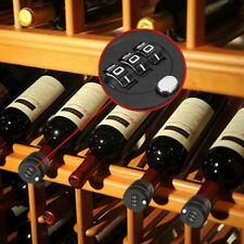 Digit Bottle Password Lock Combination Lock Wine Stopper For Security