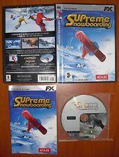 Supreme Snowboarding [PC CD-ROM] FX Interactive 'EL MUNDO' Versión Española