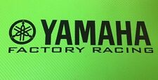 Yamaha Factory Racing Track bike or road fairing Decals Stickers PAIR #166