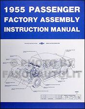 1955 Chevy Bel Air and Nomad Assembly Manual 55 Chevrolet Factory