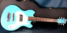 Supro Super Seven Guitar Mid 1960's bundled w/ Hard TKL Case