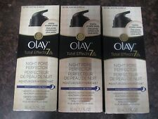 3 OLAY TOTAL EFFECTS NIGHT PORE PERFECTOR- 1.7 OZ   EXP: 8/17+   RR 16303