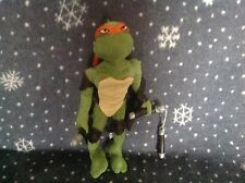 "TEENAGE MUTANT NINGA TURTLES Soft Toy 12"" TALL Excellent condition"