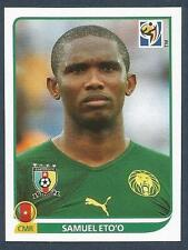 PANINI-SOUTH AFRICA 2010 WORLD CUP- #408-CAMEROON & INTER-BARCELONA-SAMUEL ETO'O