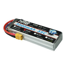 HRB 3000Mah 14.8V 4S 35C-70C LiPo Battery For RC Airplane Helicopter Car DE