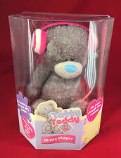 ME TO YOU BEAR TATTY TEDDY MP3 MUSIC SPEAKER STEREO HEADPHONES PLUSH GIFT