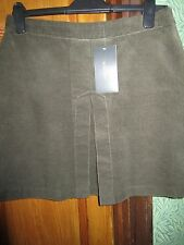 ZARA dark green SKIRT NEW SIZE L (new with labels attached)