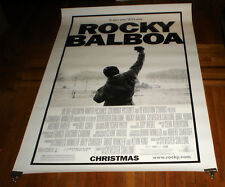 ROCKY BALBOA 4X6 6FT BUS SHELTER MOVIE POSTER Sylvester Stallone 2006