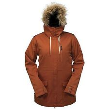 RIDE Snowboards Women's MARION Jacket - Burnt Orange - Small- NWT