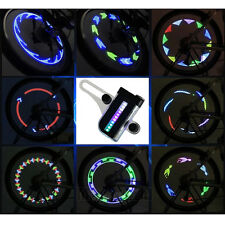 14 LED Motorcycle Cycling Bicycle Bike Wheel Signal Tire Spoke Light 30 Change