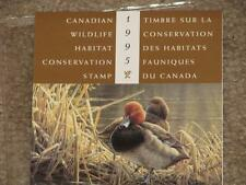 Canada, Duck, Wildlife Habitat Conservation Booklet 1995, MNH,