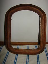 VTG ANTIQUE VICTORIAN  WOOD ART PICTURE FRAME 1890'S WITH NO GLASS