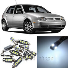 Error Free White 11pcs Interior LED Light Kit for 99-05 VW MK4 Golf GTI Jetta