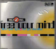 Milk Inc-Free Your Mind cd maxi single 4 tracks