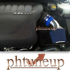 BLUE 2011-2015 DODGE AVENGER JOURNEY 3.6 3.6L Pentastar V6 AIR INTAKE KIT