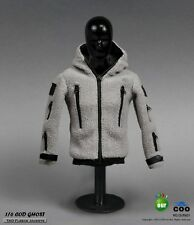 1:6 GHOST TAD Fleece Jackets Pants & Skull Mask Set for Action Figure CM-OU601