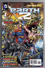 EARTH 2 #1 - JAMES ROBINSON SCRIPTS -  IVAN REIS COVER - DC's THE NEW 52 - 2012