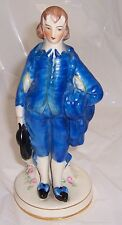 Coventry, Made in USA, Man in Blue,Vintage Porcelain Figurine