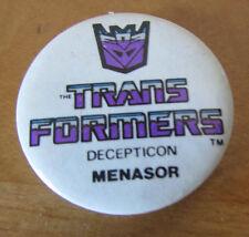 FAB RARE ORIGINAL VINTAGE RETRO *TRANSFORMERS* TRANS FORMERS BADGE