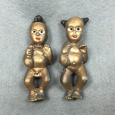 2X Phra LP Tae Voodoo Doll  Magic Kuman Thong Child Boy Girl Shaman Thai Amulet