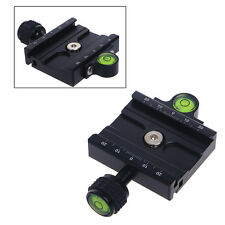 60mm Clamp For Quick Release Plate Compatible Tripod Ball Head Arca Swiss QR60
