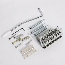 Electric Guitar Tremolo Bridge Set For Fender Strat Assemly Replacement with Bar