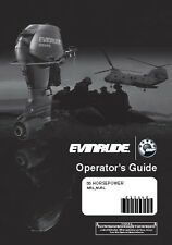 Evinrude Outboard Owners Manual 2009 E-TEC 55 HP Model: MRL, MJRL