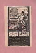STUTTGART, Werbung 1908, Union Special Maschinen Fabrik GmbH