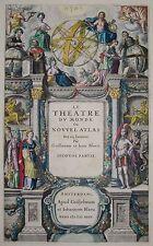 Titelblatt - Blaeu - Le theatre du Monde ou Nouvel Atlas - 1647 -Title page