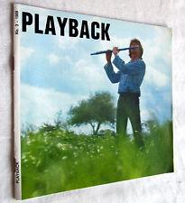 PLAYBACK - Scotch Tonbänder Mitteilungen Nr. 3 /1969
