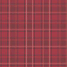Me encanta Wallpaper Tartan diseñador Luxuryweight Wallpaper tradicional Rojo escocés