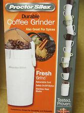 Proctor Silex - Coffee Grinder!  NEW!   L@@K!