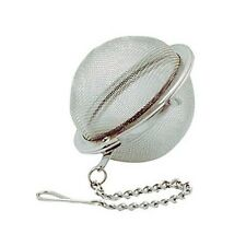 """RSVP 2"""" Tea Infuser Mesh Ball Stainless Steel For Making Individual Cups Of Tea"""