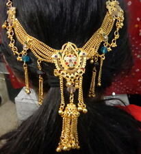 ethnic Bridal Women kamar bandh Hip Waist gold Belt hair wedding Indian jewelry