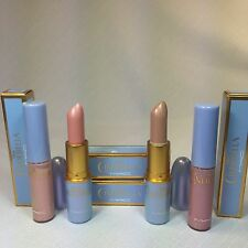 4 NEW MAC CINDERELLA 2 Lipstick &2 Lipglass Royal Ball Free Butterfly Glass Slip