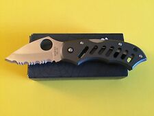 SPYDERCO DISCONTINUED NAVIGATOR C62BLS. SERRATED BLADE