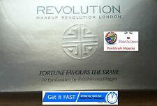 Makeup Revolution Fortune Favours The Brave 30 shades BritishBeautyLogger