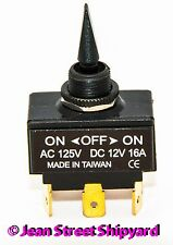 Marine Boat DPDT Bat Handle Toggle Switch 3 Position On-Off-On Seachoice 12021