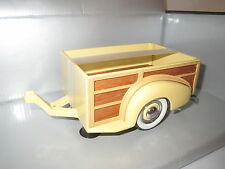 "Motor City Classics  ""1939"" Chevy Master Deluxe Trailer (gelb/braun)  1:18 OVP"