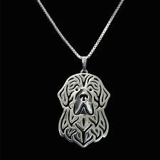 ❤️ Halskette mit Anhänger Neufundländer, Newfoundland,  Hundekopf, Necklace