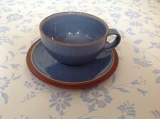 NEW⭐️DENBY JUICE⭐️BERRY BLUE Gorgeous TEA Cup and Saucer⭐️