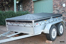 BOX TRAILER COVER ONLY fits 7' x 4' (eyelet) *MADE TO ORDER*see details(TNSTR03)