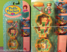 Polly pocket Mini nouveau ♥ fleurs chaine ♥ camp Days Locket ♥ OVP ♥ 1991 ♥ New ♥